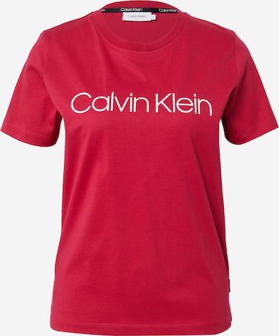 Calvin Klein T-shirt en pitaya / blanc, Vue avec produit