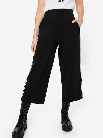 Karl Lagerfeld Trousers in Black / White, View model