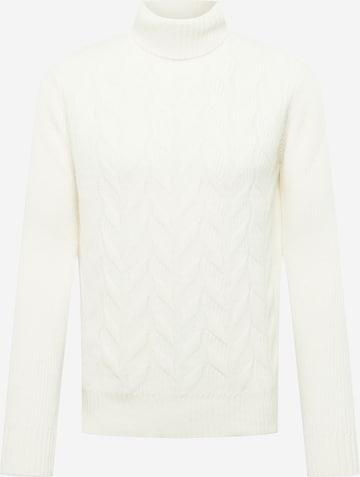 Oscar Jacobson Sweater 'Samir' in White
