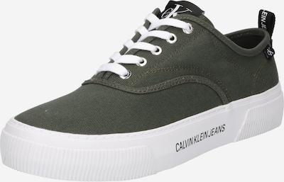 khaki / fekete / fehér Calvin Klein Jeans Rövid szárú edzőcipők, Termék nézet
