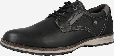 TOM TAILOR Šnurovacie topánky - čadičová / čierna, Produkt