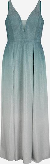 My Mascara Curves Kleid in hellgrau / dunkelgrün / silber, Produktansicht