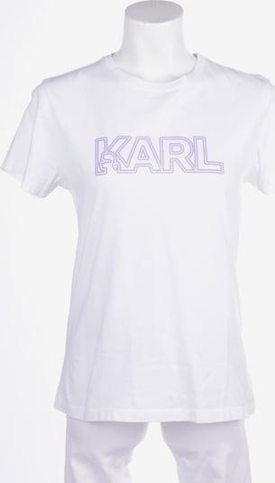 Karl Lagerfeld Shirt in L in weiß, Produktansicht