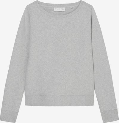 Marc O'Polo Sweatshirt in hellgrau / weiß, Produktansicht