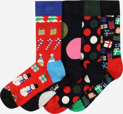 Happy Socks Socken 'Bonanza' in blau / mischfarben / rot / schwarz, Produktansicht