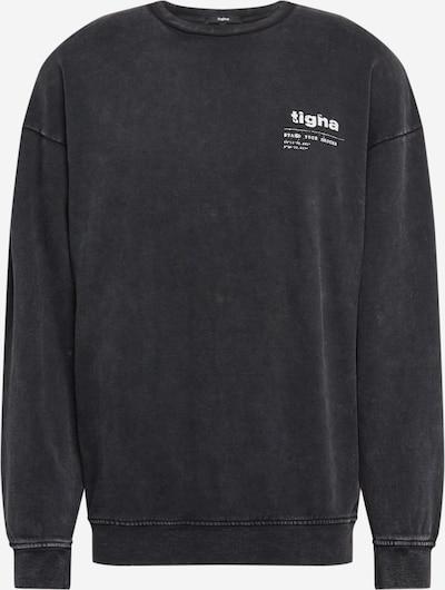 tigha Sweatshirt  'Ciel' in schwarz / weiß, Produktansicht