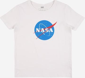 Mister Tee Tričko 'NASA Insignia ' - biela