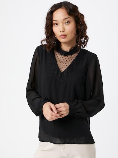 VERO MODA Chemisier 'BELLA' en noir, Vue avec modèle