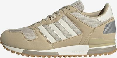 ADIDAS ORIGINALS Sneakers laag 'ZX 700' in de kleur Beige / Zilver / Wit, Productweergave