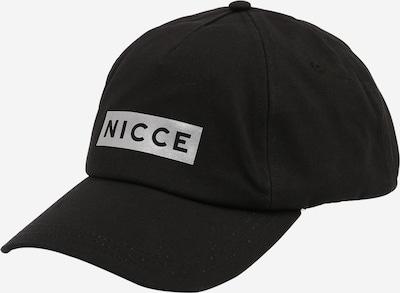 Nicce Cap 'ASTHINE' in silbergrau / schwarz, Produktansicht