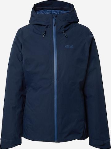 Giacca per outdoor 'Argon Storm' di JACK WOLFSKIN in blu
