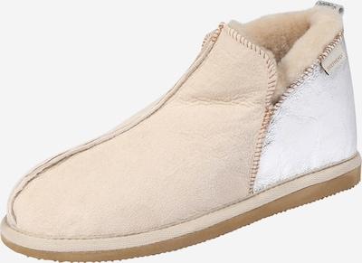 SHEPHERD OF SWEDEN Hausschuh in beige / silber, Produktansicht