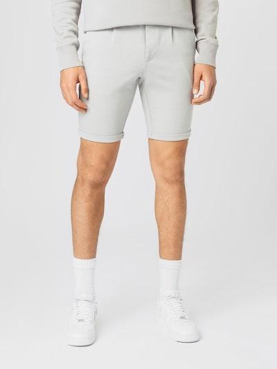 Lindbergh Plisované nohavice - svetlosivá, Model/-ka
