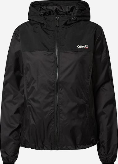 Schott NYC Tussenjas in de kleur Zwart, Productweergave