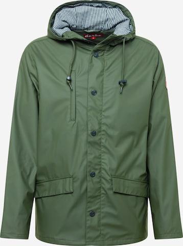 Derbe Between-season jacket 'Passby Fisher' in Green