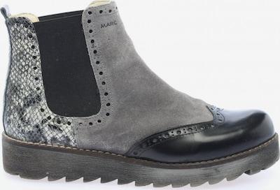 MARC Chelsea Boots in 37 in hellgrau / schwarz, Produktansicht