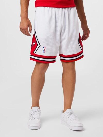 Pantaloni 'CHICAGO BULLS' Mitchell & Ness di colore blu notte / rosso / bianco, Visualizzazione modelli