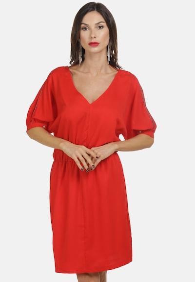 faina Sommerkleid in rot, Modelansicht