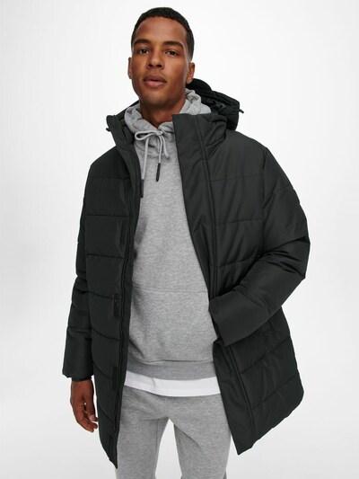 Only & Sons Зимно палто 'Carl' в черно, Преглед на модела
