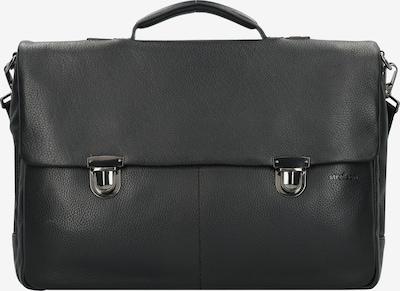 STRELLSON Garret Aktentasche Leder 42 cm Laptopfach in schwarz, Produktansicht