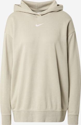 Nike Sportswear Sweatshirt in Beige