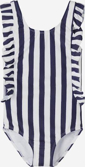 Costum de baie întreg NAME IT pe bleumarin / alb, Vizualizare produs