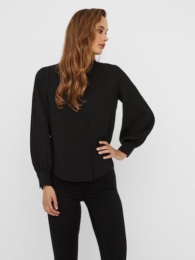 VERO MODA Bluse 'Maya' in schwarz, Modelansicht