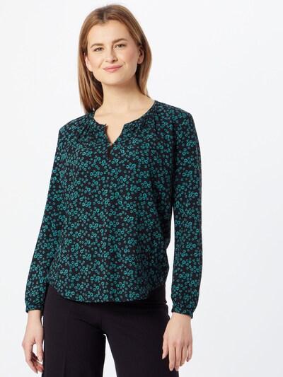 Bluză EDC BY ESPRIT pe verde / negru, Vizualizare model