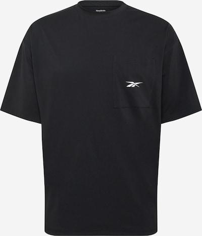 REEBOK Funkčné tričko - čierna / biela, Produkt