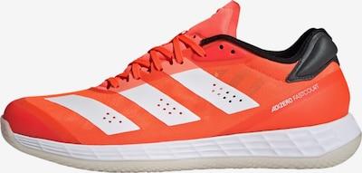 ADIDAS PERFORMANCE Handballschuh in orangerot / schwarz / weiß, Produktansicht
