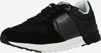 Pepe Jeans Baskets basses 'VERONA' en gris chiné / noir, Vue avec produit