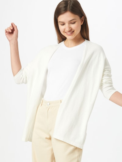 ESPRIT Knit cardigan in Off white, View model