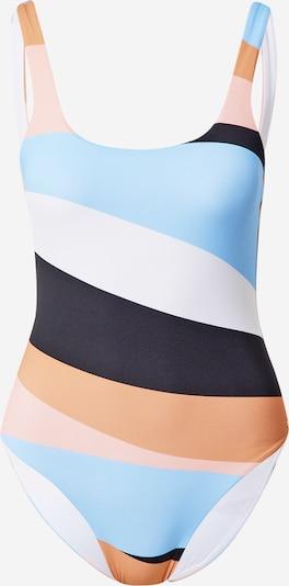Costum de baie întreg 'PARADISO PASSPORT' ROXY pe albastru deschis / portocaliu / portocaliu piersică / alb, Vizualizare produs