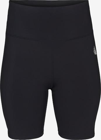 Active by Zizzi Workout Pants 'Ajuji' in Black