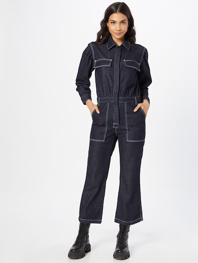 Levi's Made & Crafted Overall in blue denim, Modelansicht