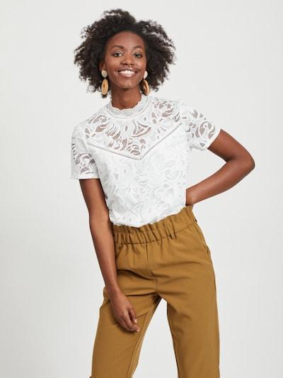 VILA Blus 'Stasia' i vit, På modell