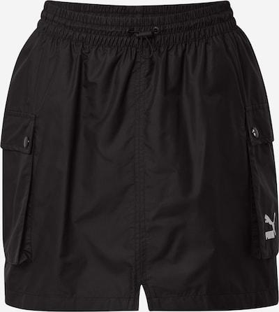PUMA Falda deportiva en negro / blanco, Vista del producto