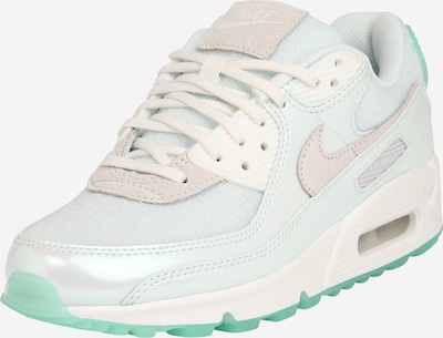 Sneaker bassa 'Air Max 90' Nike Sportswear di colore menta / bianco, Visualizzazione prodotti