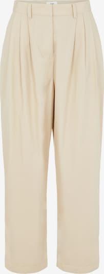 OBJECT Kalhoty se sklady v pase 'Nancy' - starobéžová, Produkt