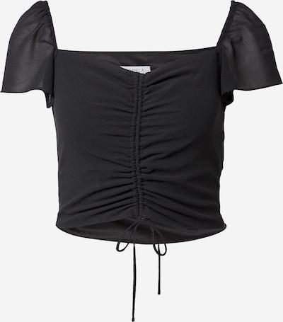Bluză NA-KD pe negru, Vizualizare produs