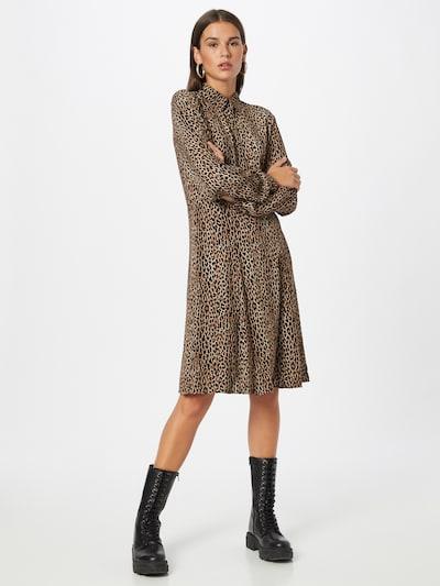NÜMPH Kleid 'NUDELSIA' in braun / schwarz, Modelansicht