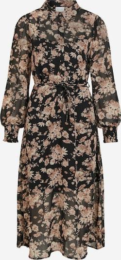 VILA Robe en rose clair / noir, Vue avec produit