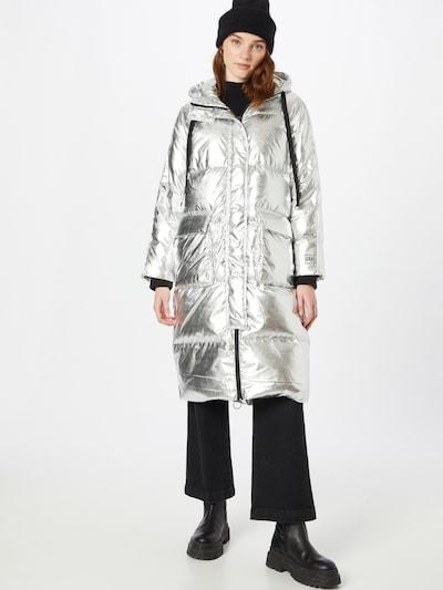 GAP Mantel in silber, Modelansicht