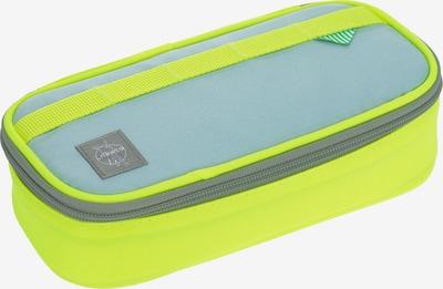 LÄSSIG Schreibgeräteetui in gelb / neongelb / grau, Produktansicht