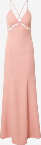 Trendyol Večerné šaty - ružová