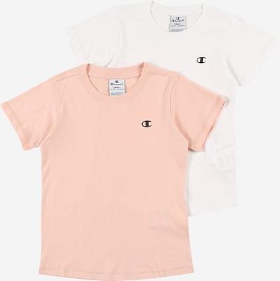 Champion Authentic Athletic Apparel T-Shirt en bleu nuit / poudre / blanc, Vue avec produit