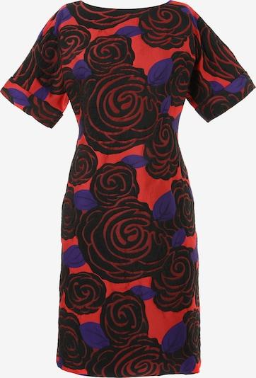 Madam-T Kleid 'JUDY' in blau / rot / schwarz, Produktansicht