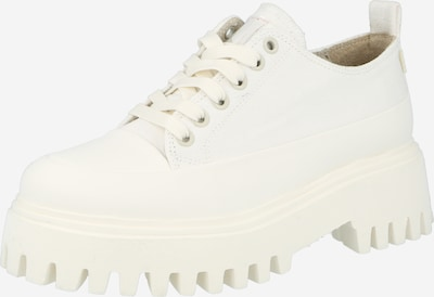 BRONX Chaussure à lacets en blanc cassé, Vue avec produit