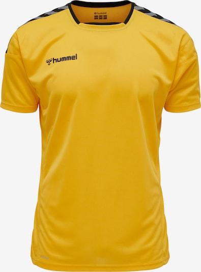 Hummel T-Shirt in gelb / grau / schwarz, Produktansicht