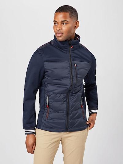 TOM TAILOR Prijelazna jakna u tamno plava, Prikaz modela